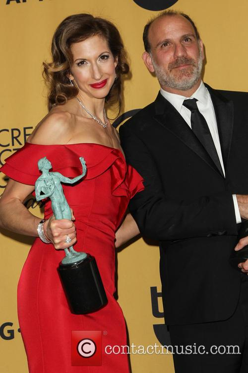 Alysia Reiner and Nick Sandow
