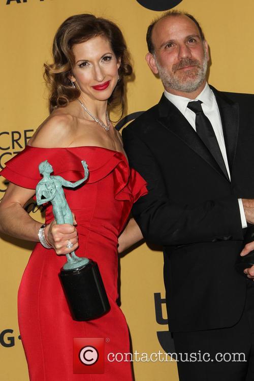 Alysia Reiner and Nick Sandow 1