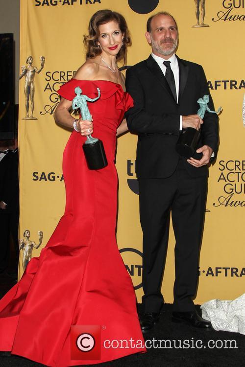 Alysia Reiner and Nick Sandow 2