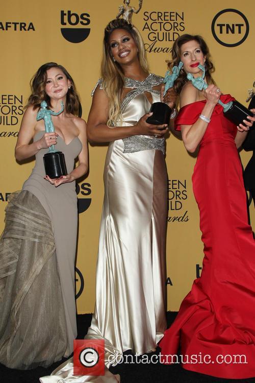 Kimiko Glenn, Laverne Cox and Alysia Reiner 2