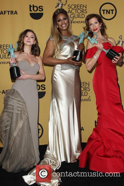 Kimiko Glenn, Laverne Cox and Alysia Reiner 1