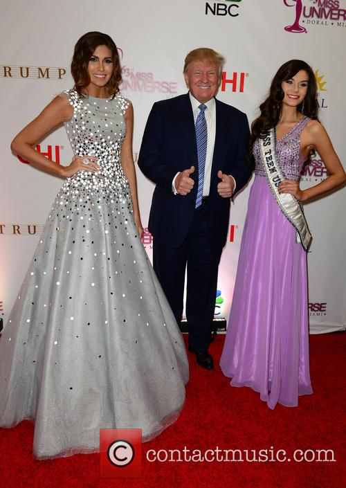 Gabriela Isler, Donald J. Trump and K. Lee Graham 4