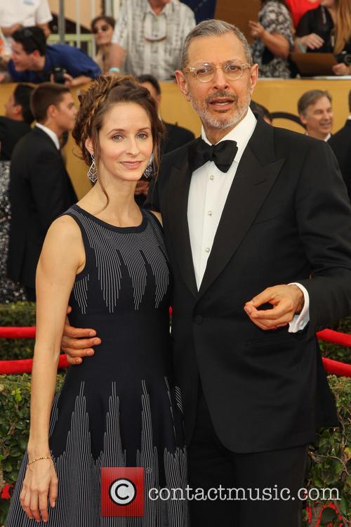 Emilie Livingston and Jeff Goldblum 2