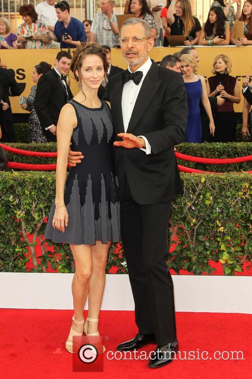 Emilie Livingston and Jeff Goldblum 3