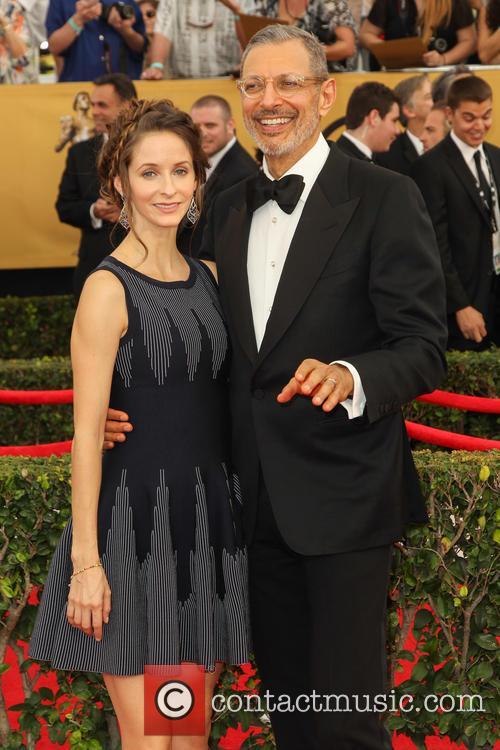 Emilie Livingston and Jeff Goldblum 5