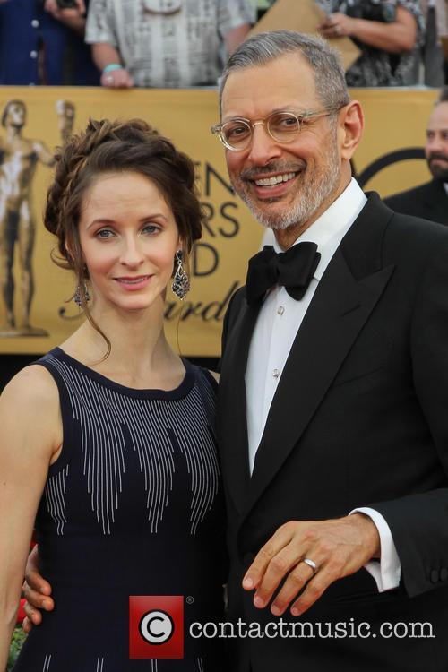 Emilie Livingston and Jeff Goldblum 6