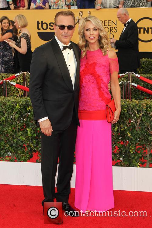 Kevin Costner and Christine Baumgartner 1