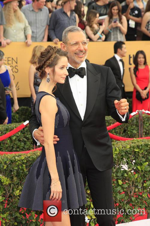 Emilie Livingston and Jeff Goldblum 1