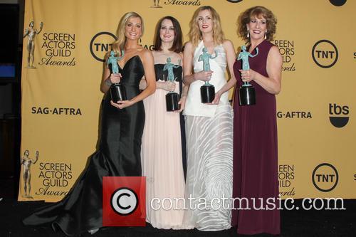 Joanne Froggatt, Sophie Mcshera, Laura Carmichael and Phyllis Logan 3