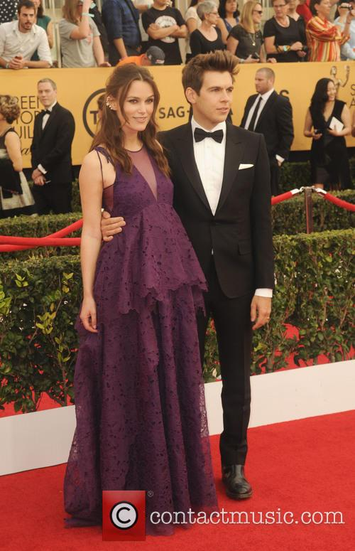 Keira Knightley and James Righton 1