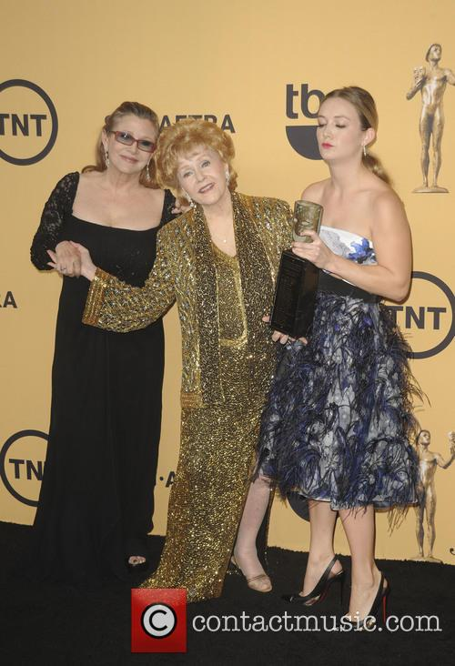 Carrie Fisher, Debbie Reynolds and Billie Lourd 2