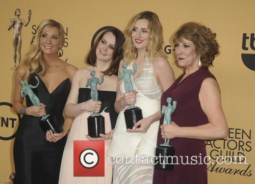 Phyllis Logan, Laura Carmichael, Joanne Froggatt and Sophie Mcshera 4