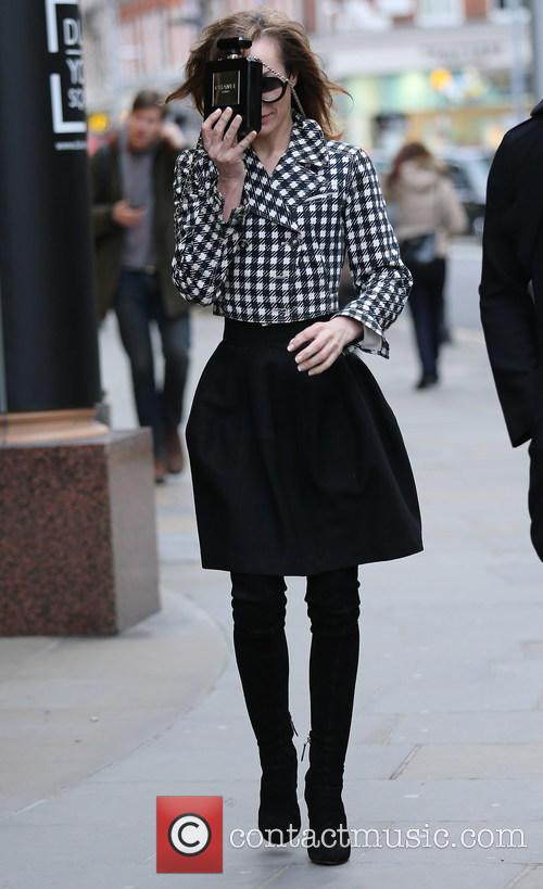 Tara Palmer Tomkinson out in London
