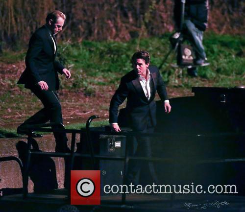 Tom Cruise and Simon Pegg