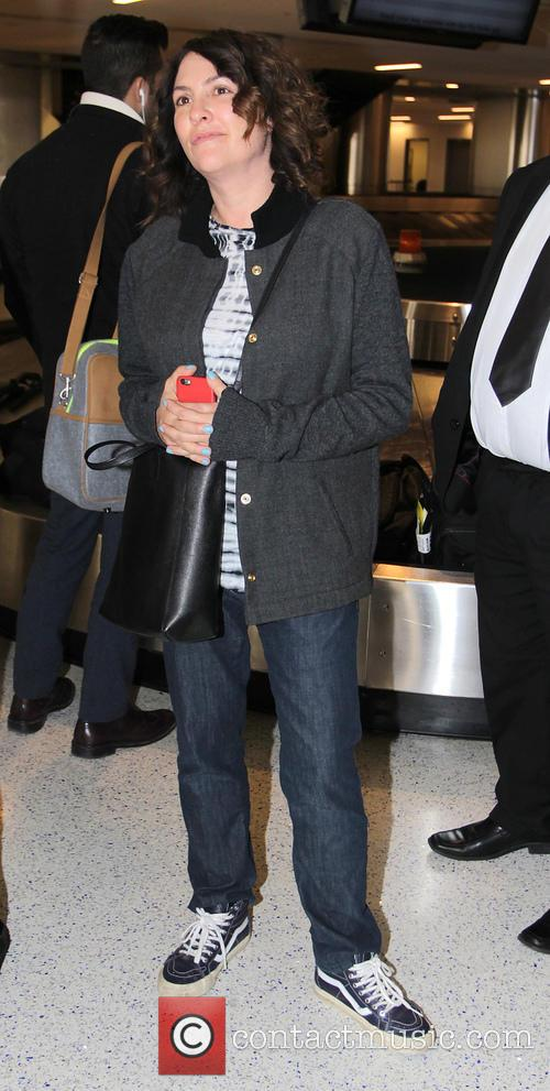 Jill Soloway arrives at Los Angeles International Airport