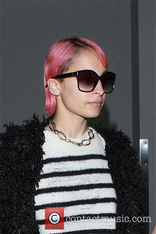 Nicole Richie at Los Angeles International Airport (LAX)
