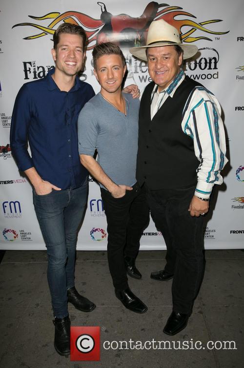 Ronnie Kroell, Billy Gillman and Eddie Lobo 2