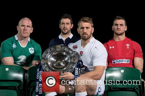 Chris Robshaw, Greig Laidlaw, Paul O'connell and Sam Warburton 5