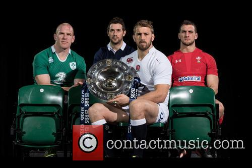 Chris Robshaw, Greig Laidlaw, Paul O'connell and Sam Warburton 6