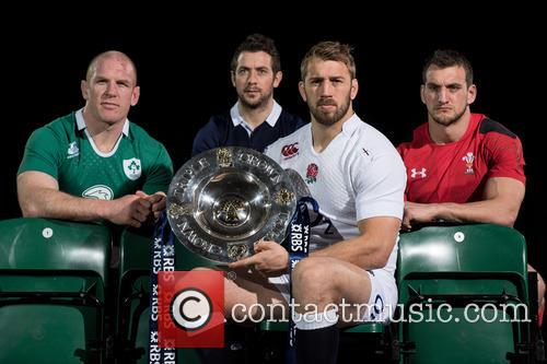 Chris Robshaw, Greig Laidlaw, Paul O'connell and Sam Warburton 7