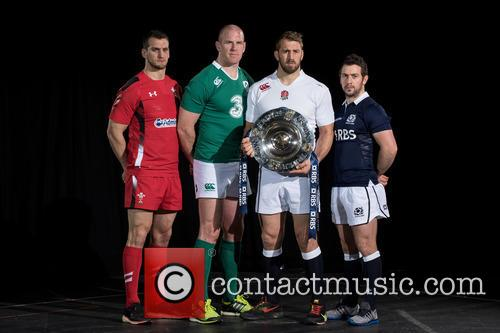 Chris Robshaw, Greig Laidlaw, Paul O'connell and Sam Warburton 9