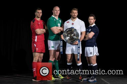 Chris Robshaw, Greig Laidlaw, Paul O'connell and Sam Warburton 1