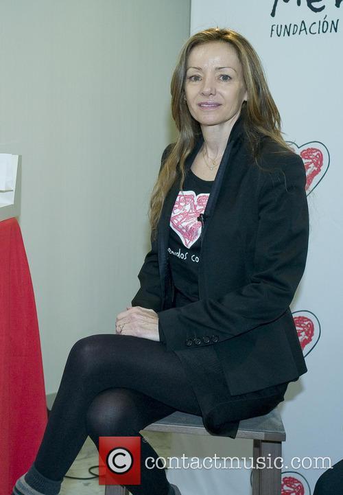 Miriam de Ungria attends the presentation of the...