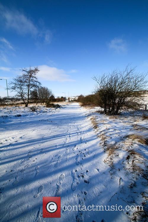 Snowfall settled in County Durham