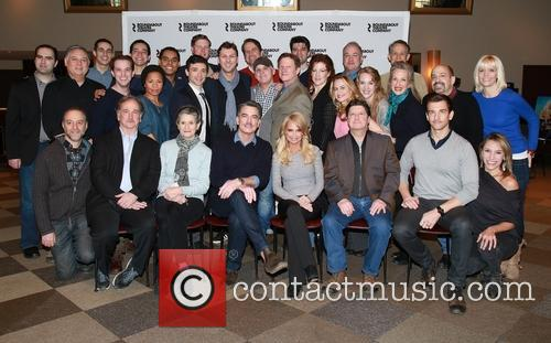 Mark Linn-baker, Mary Louise Wilson, Peter Gallagher, Kristin Chenoweth, Andy Karl, Michael Mcgrath, Kevin Stites, Warren Carlyle, Scott Ellis and Cast Members 2