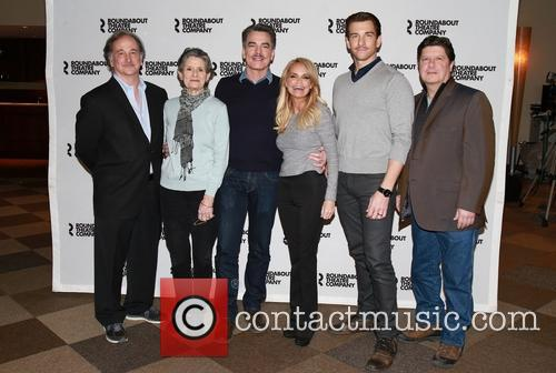 Mark Linn-baker, Mary Louise Wilson, Peter Gallagher, Kristin Chenoweth, Andy Karl and Michael Mcgrath 4