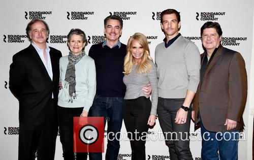 Mark Linn-baker, Mary Louise Wilson, Peter Gallagher, Kristin Chenoweth, Andy Karl and Michael Mcgrath 5
