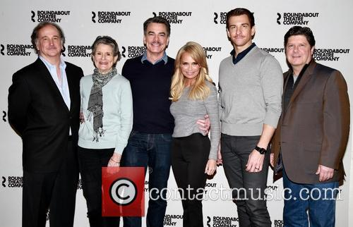Mark Linn-baker, Mary Louise Wilson, Peter Gallagher, Kristin Chenoweth, Andy Karl and Michael Mcgrath 1