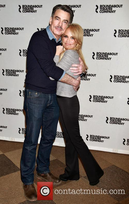 Peter Gallagher and Kristin Chenoweth 2