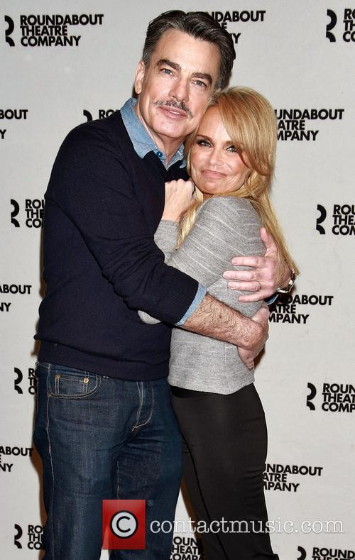Peter Gallagher and Kristin Chenoweth 7