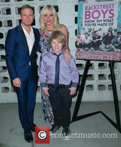 Brian Littrell, Leighanne Wallace and Baylee Thomas Wylee Littrell 3