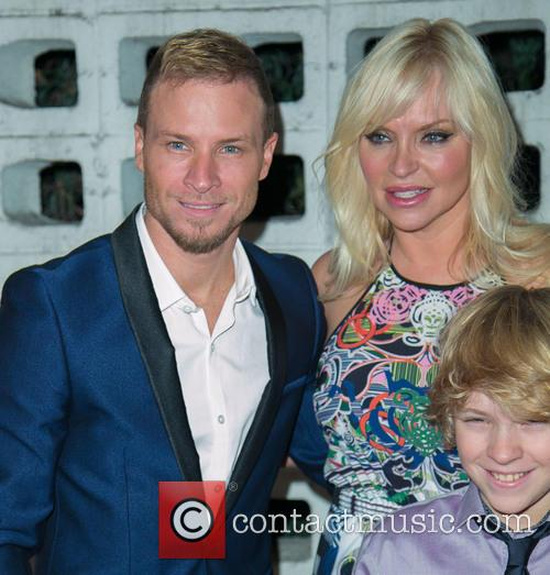 Brian Littrell, Leighanne Wallace and Baylee Thomas Wylee Littrell 5