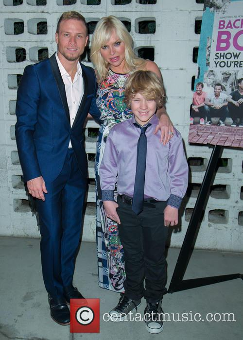 Brian Littrell, Leighanne Wallace and Baylee Thomas Wylee Littrell 6