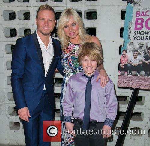 Brian Littrell, Leighanne Wallace and Baylee Thomas Wylee Littrell 7
