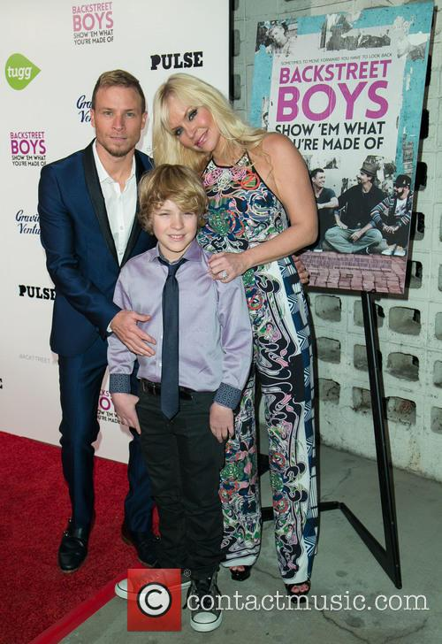 Brian Littrell, Leighanne Wallace and Baylee Thomas Wylee Littrell 8