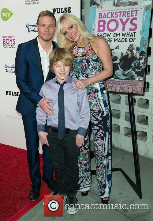 Brian Littrell, Leighanne Wallace and Baylee Thomas Wylee Littrell 9