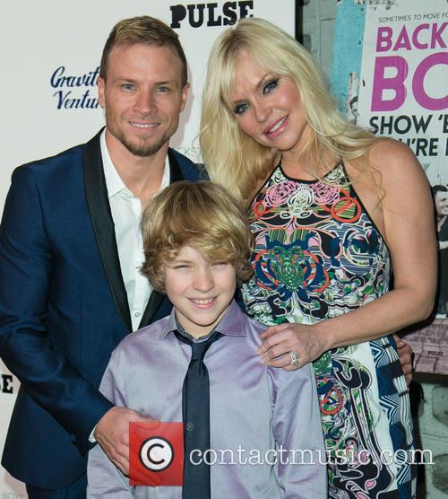Brian Littrell, Leighanne Wallace and Baylee Thomas Wylee Littrell 1