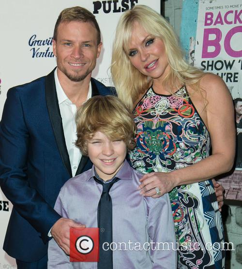 Brian Littrell, Leighanne Wallace and Baylee Thomas Wylee Littrell 11