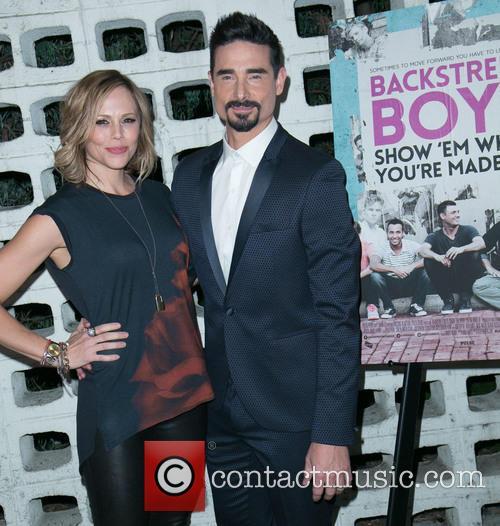Backstreet Boys, Mandy Richardson and Kevin Richardson 2