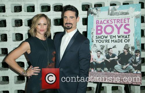Backstreet Boys, Mandy Richardson and Kevin Richardson 7