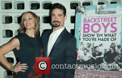 Backstreet Boys, Mandy Richardson and Kevin Richardson 9