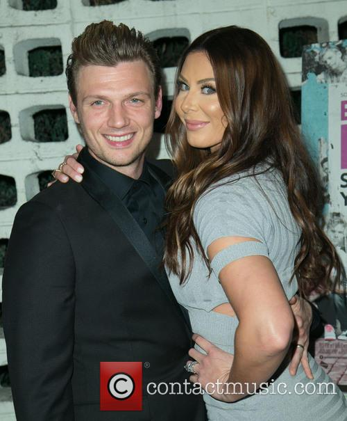 Nick Carter and Lauren Kitt 2