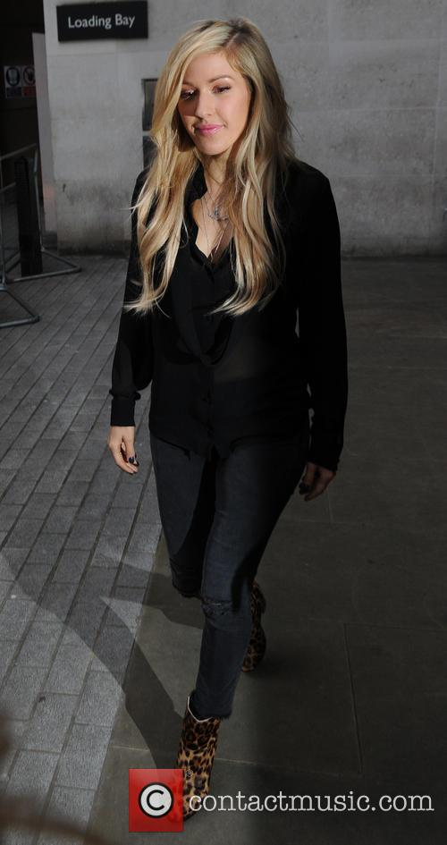 Ellie Goulding out in London
