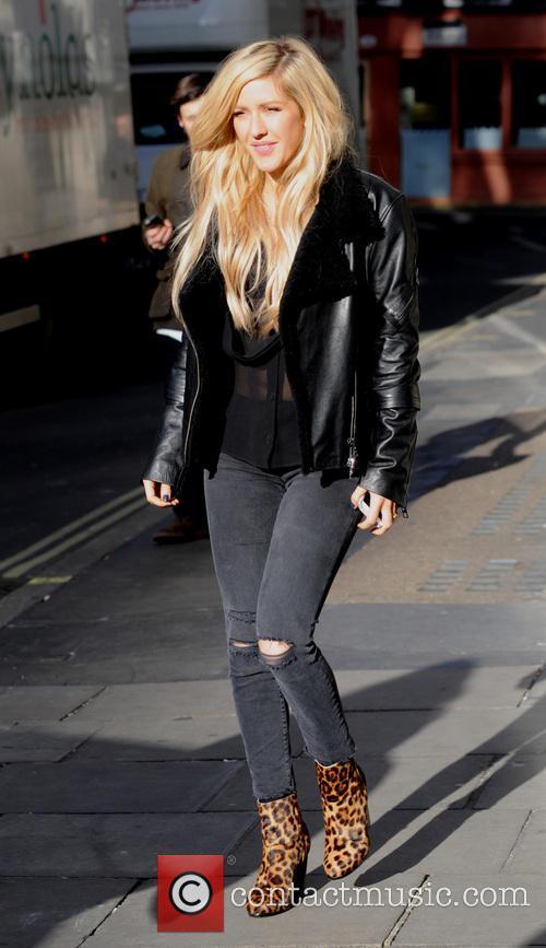 Ellie Goulding at Kiss FM