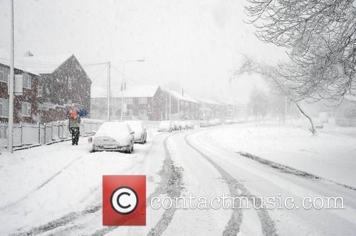 Snow Manchester UK