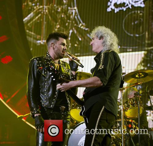 Brian May, Adam Lambert and Queen 8